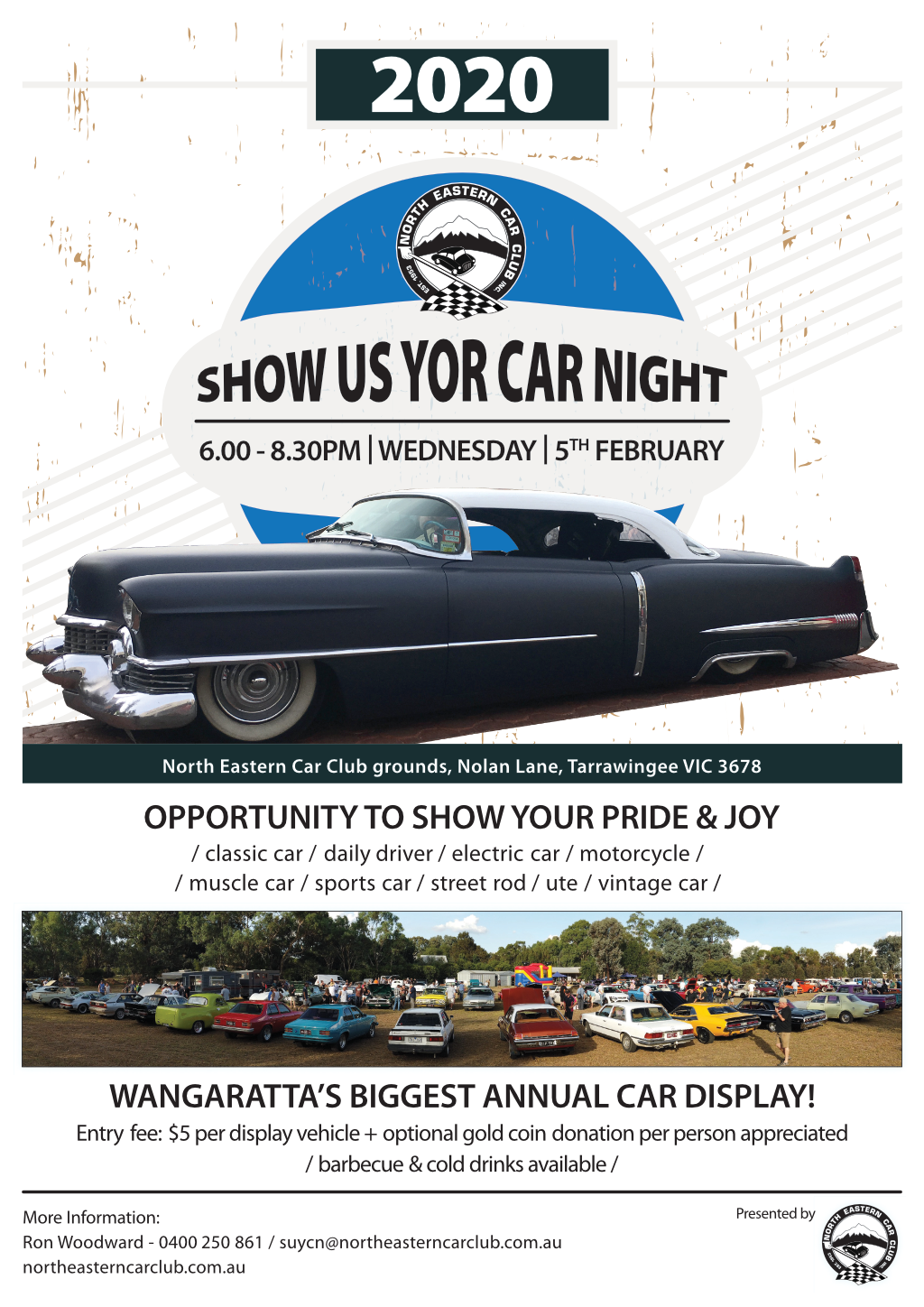 Show Us YOur Car Night 2020